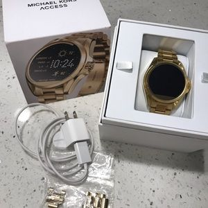 Michael Kors smart watch.